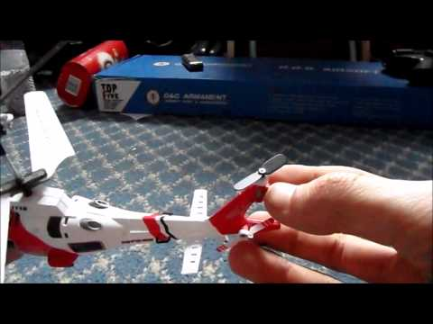 syma S111G remote control helicopter review