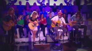 Angus & Julia Stone - Crash And Burn (Live @ Le Grand 8)