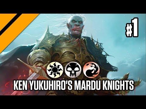 Bo3 Constructed - Ken Yukuhiro's Mardu Knights P1