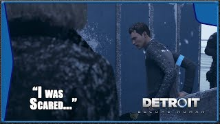 Detroit: Become Human - Roof Investigation, Connor FEELS Fear, SIMON commits Suicide (HD) (1080p)