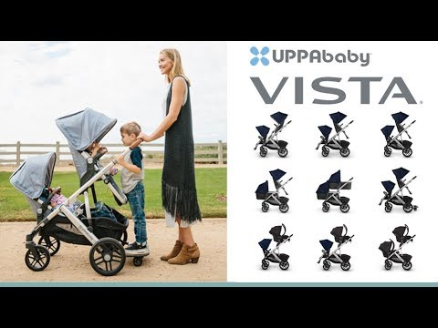 UPPAbaby Vista Pushchair & Carrycot Store Demo – Direct2Mum