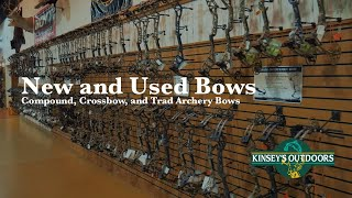 Kinsey's Outdoors - Compound, Crossbow, and Traditional Bow Selection