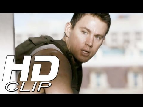 White House Down Clip 'There's a Friendly on Roof'