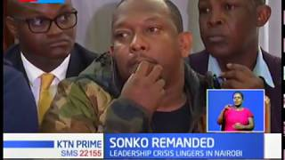 Sonko to remain in custody until Wednesday