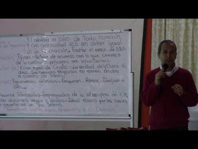 Seminario de Evangelismo – Culto Matutino – Alejandro Rendón