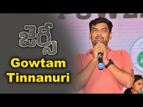 Gowtam Tinnanuri At Jersey Movie Team Success Meet Event