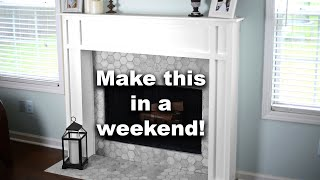 Building A DIY Fireplace Surround And Mantel | Free Plan