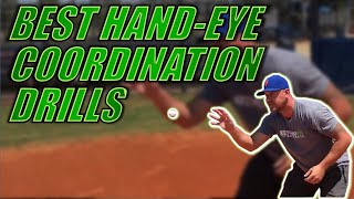 BEST HAND-EYE COORDINATION DRILLS...that baseball players can do ANYWHERE!