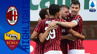 Milan closed the gap between them and Napoli, with a 2-0 win over Roma | Serie A TIM  This is the official channel for the Serie A, providing all the latest highlights, interviews, news and features to keep you up to date with all things Italian football. Subscribe to the channel here! https://bit.ly/2OM2Eax   Find out more about the Serie A at: http://www.legaseriea.it/en/   Questo è il canale ufficiale della Serie A, dove potrai avere accesso ai momenti salienti, alle interviste, alle notizie e alle funzionalità del momento per rimanere aggiornato sulle ultime novità del campionato. Iscriviti qui al canale! https://bit.ly/2OM2Eax  Per maggiori informazioni sulla Serie A: http://www.legaseriea.it/it