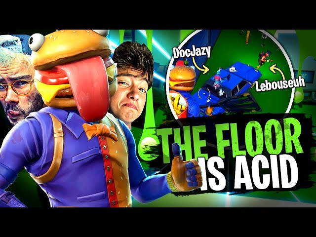 Parkour the floor is acid