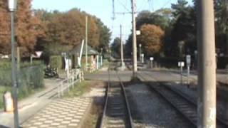preview picture of video 'Straßenbahn in Krefeld / Tram in Krefeld'