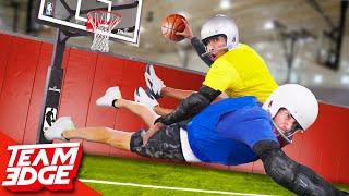 We Play Tackle Basketball!!