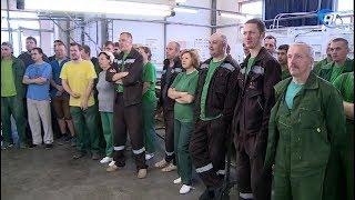 Андрей Никитин посетил производство компании «Волховец»