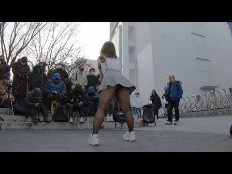 덜덜덜 | EXID - 댄스팀 너의소녀 초롱 홍대 버스킹 chulwoo 직캠(Fancam)