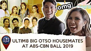 Ultim8 Big Otso housemates, naexcite sa kanilang first ABS-CBN Ball! | Star Hunt Unscripted
