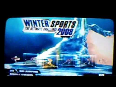 winter sports the ultimate challenge 2008 wii cheats