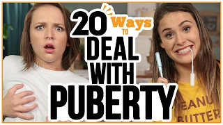 20 Ways to Deal with PUBERTY - w/ Alexis G. Zall and Ayydubs