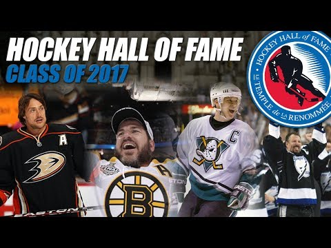2017 Hockey Hall of Fame Inductees