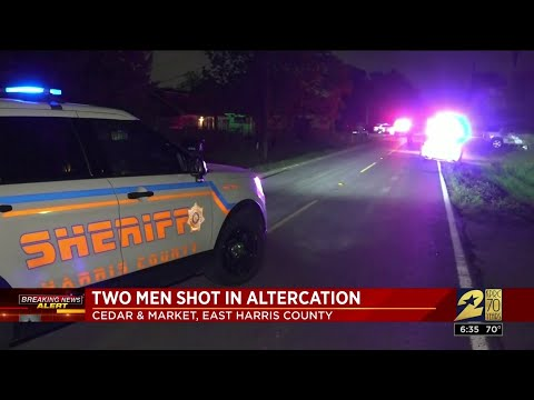 Two Men Shot in possible road rage, police say