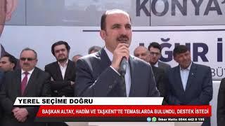 Başkan Altay: Hep birlikte Konya'nın geleceği için çalışıyoruz