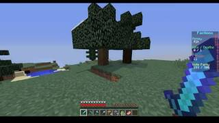 AWESOME BASE!!! (not really) {Minecraft Factions Episode 1}