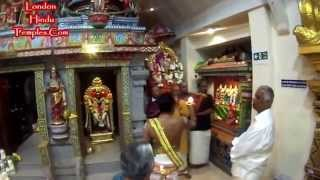 preview picture of video 'October 2014 Karthigai Fsetival At Sri Raja Rajeswari Amman Temple Stoneleigh,UK 11-10-2014'