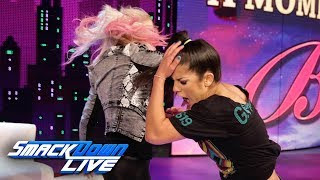 "Alexa Bliss slaps Bayley on ""A Moment of Bliss"": SmackDown LIVE, June 18, 2019"