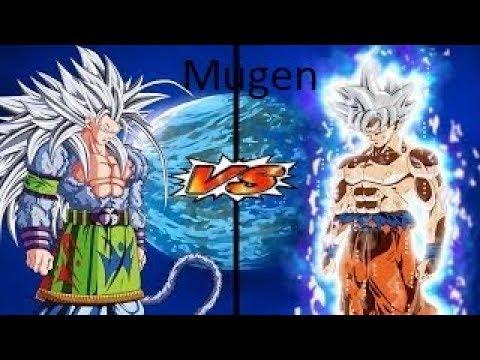 Mugen Battles | Mastered Ultra Instinct Goku vs Jiren
