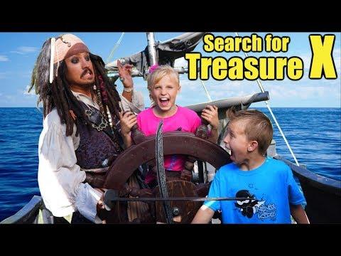 Kids vs Pirates! Search for Treasure X!