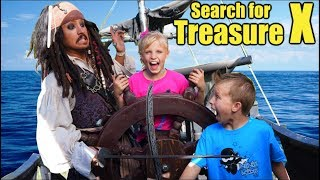 Kids Vs Pirates! Search For Treasure X!