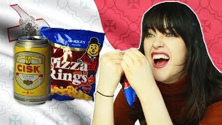 Irish People Try Maltese Snacks
