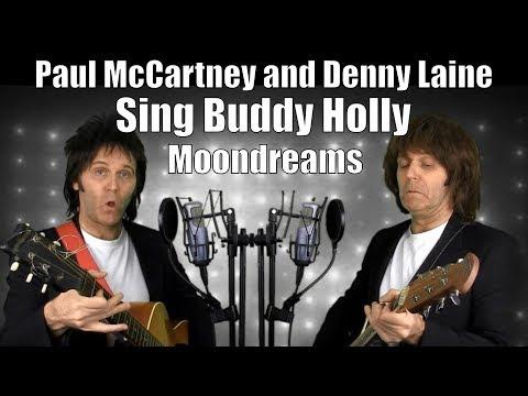 Paul McCartney and Denny Laine Sing Buddy Holly - Moondreams  1977