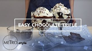 Make This Instant No-Bake Chocolate Dessert With Just Five Ingredients! | Metro.style