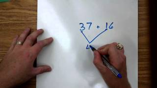 Two Digit Addition By Decomposing Numbers