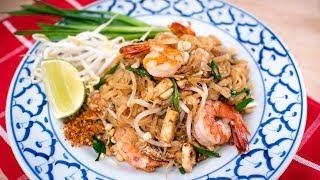 My BEST Authentic Pad Thai Recipe ผัดไทยกุ้งสด - Hot Thai Kitchen