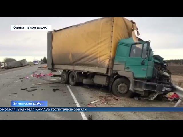 В Приангарье погиб дальнобойщик