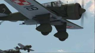 BDF - PZL-23B Karaś› polski lekki bombowiec