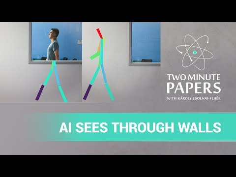 A.I. Senses PeopleThrough Walls Using WiFi Waves