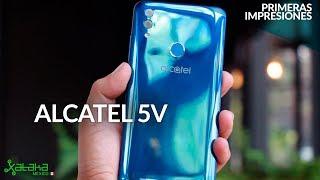 Alcatel 5V llega a México, UNBOXING, primeras IMPRESIONES y PRECIO oficial