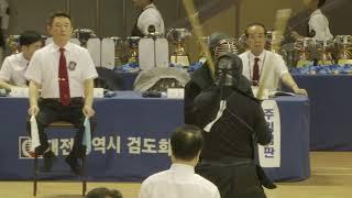 2019 문체부장관배 전국학생검도대회 고등부 명신고 VS 온양용화고 대표전