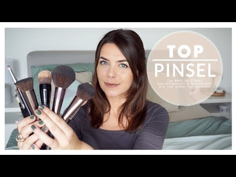 TOP MAKE-UP PINSEL / FAVORITEN Gesichtspinsel & Augenpinsel / Jucepauline