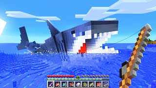 Catching ALL MODDED FISH In Minecraft!