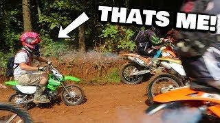 PIT BIKE VS EXTREME ENDURO RACE! | Gone HORRIBLY WRONG!