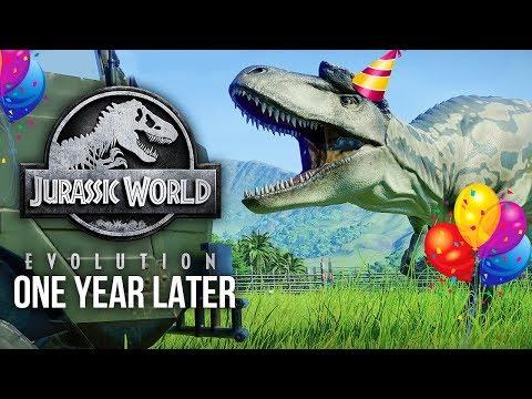 The Evolution Of Jurassic World: Evolution (One Year Anniversary)