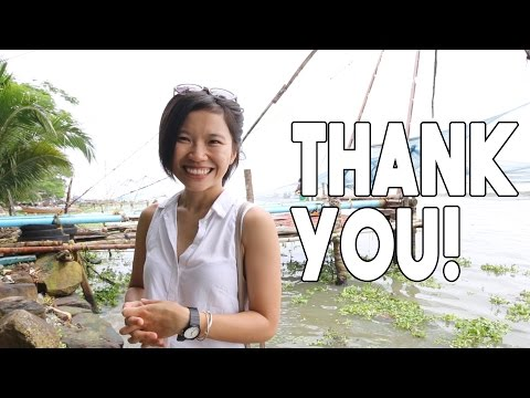 Celebrating 100K Youtube Subscribers | Traveling in Kerala, India with Indian Street Food!