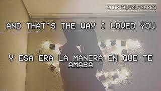 🔣 the way i loved you (taylor's version) - taylor swift (lyrics/español) 🔣