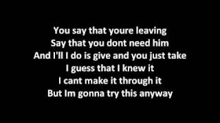 Fallin Apart - All American Rejects [Lyrics]