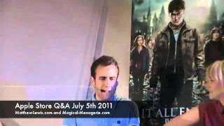 Том Фелтон, Apple Store Q&A - July 5 2011