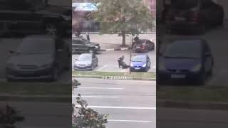 Стрельба возле супермаркета в Харькове