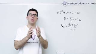 Kvadratická rovnice - kde se vzaly vzorečky pro řešení?